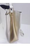 Biela kabelka do ruky Prestige