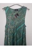 Štylové vzorované dlhé šaty