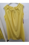 Žlté elegantné dámske šaty.