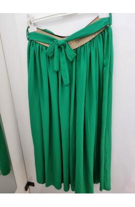Skladaná dlhá sukňa
