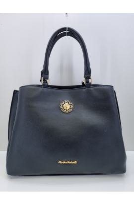 Elegantná čierna kabelka do rukyMG