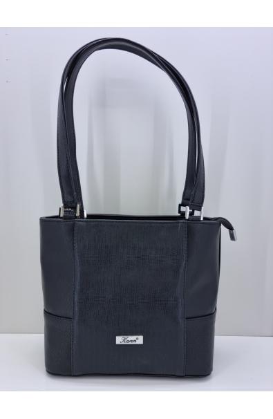 Čierna kabelka na rameno Karen