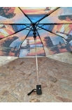 Dáždnik maľovaná krajinka