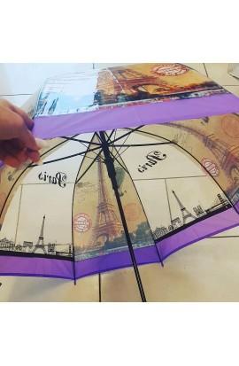 Dáždnik priesvitný Paríž