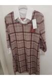 Karované šaty