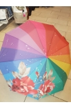 Dáždnik dúhový skladací