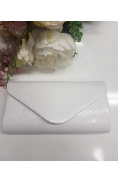 Matná listová spoločenská kabelka
