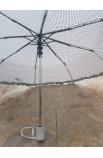 Dáždnik bodkovaný poloautomat