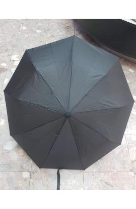 Dáždnik panský čierny poloautomat