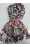 Maľovaný šál