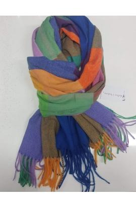 Teplý kockovaný šál