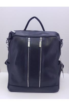 Čierny ruksak/kabelka Chiara