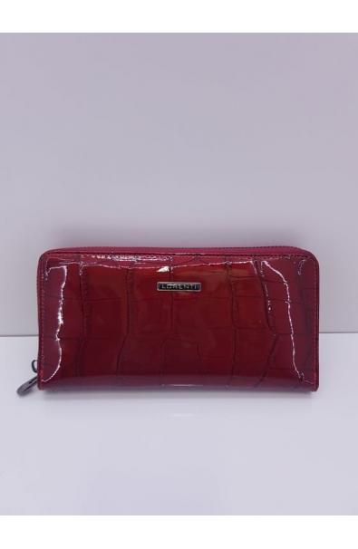 Kožená lákovaná peňaženka Lorenti