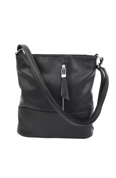 Čierna Crossbody kabelka Karen