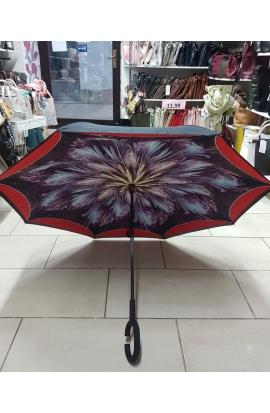 Obrátený dáždnik do auta