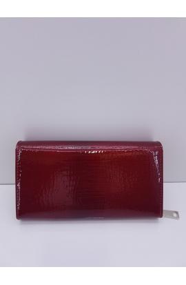 Peňaženka kožená lakovaná Via55