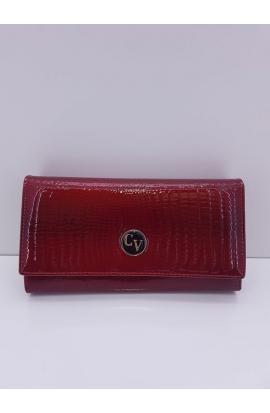 Peňaženka kožená lakovaná CA