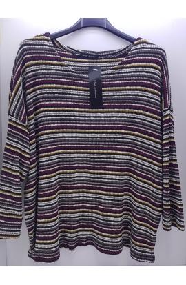 Dámsky farebný pulóver