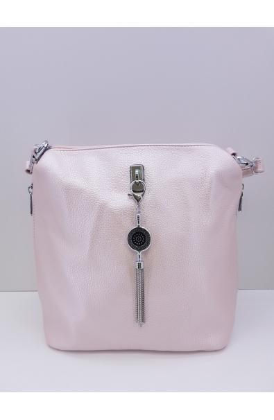 Štýlová metalická Crossbody kabelka Silvia Rosa