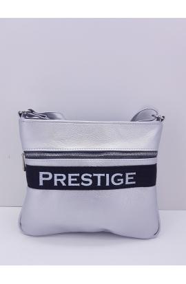 Strieborná Crossbody kabelka Prestige
